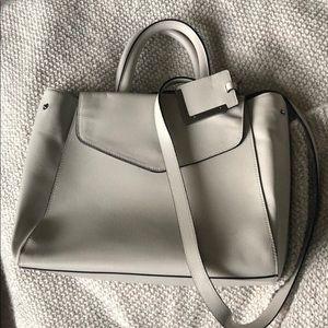 The Limited light grey crossbody/handbag